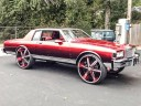 Box Chevy Caprice 2 door on 30 inch rims wheels tires
