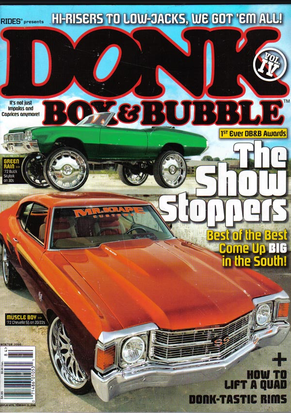 Donk, Box, & Bubble Magazine Featured Product - Rim Fitment ...