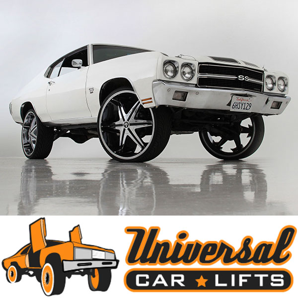 1965, 1966, 1967, 1968, 1969, 1970, 1971, and 1972 rim rubs suspension without lift leveling spring kit for GM a body.