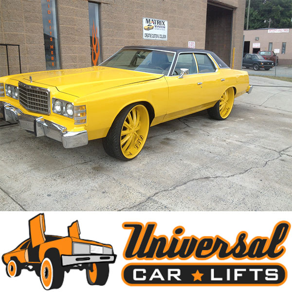 Details about Ford Crown Victoria control arm front extended 79-91 Marquis  Town Car LTD donk