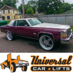 Donk rim suspension lift kit for 1993, 1994, 1995, and 1996 Caddy Fleetwood for sale. How to manual included.