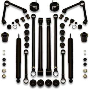 Looking for performance upgrades for Crown Victoria? Try this heavy duty suspension lift kit.