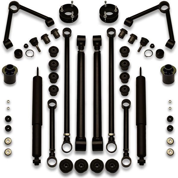 06-11 FORD PANTHER 3″ TO 10″ CAR LIFT KIT FOR CROWN VIC, MARQUIS, TOWN CAR