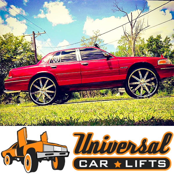 95 97 Ford Panther 3 To 10 Car Lift Kit For Crown Vic Marquis