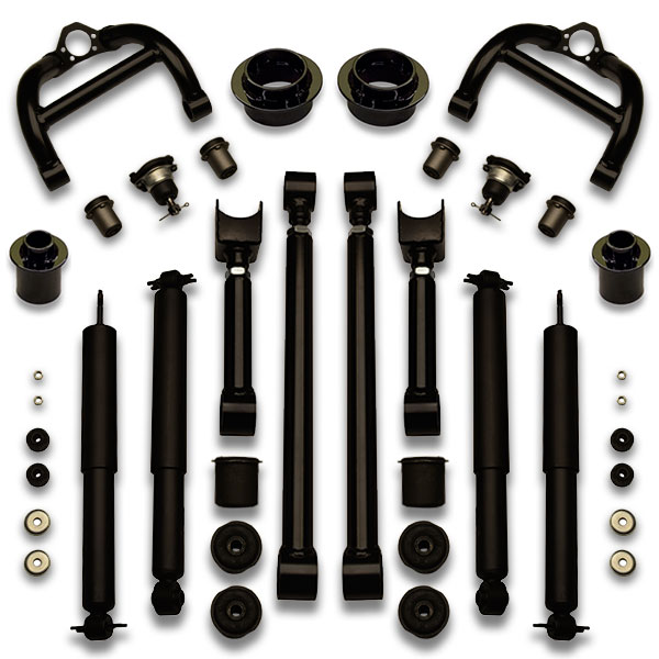 Caprice, Impala, Safari, Centurion, Lesabre wheel lift kit for Forgiato, Lexani, Asanti, Rides Magazine, Dub, and more.