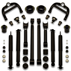 Complete lift kit for 71-96 B Body including bushings and balljoints for Caprice, Impala, Lesabre, Belair, and more.