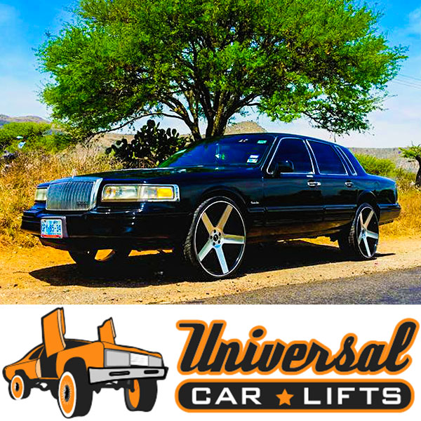 Get 22s, 24s, 26, 28s, and 30s from Dub edition empire wheels on your crown victoria or lincoln towncar.