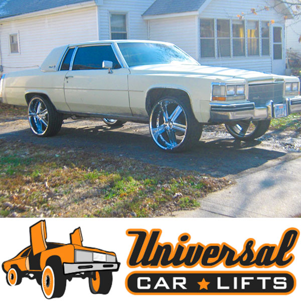 77 84 Cadillac Deville 3 To 10 Car Lift Kit Rim Fitment Specialists