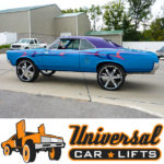 Monte Carlo, Cutlass, Chevelle, Laguna car rim lift kit for donked out look on 24s, 26s, 28s, and 30's. Includes control arms, cups and more.
