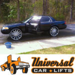Crown Victoria modified lift spring kit on 22s, 24s, 26s, 30,s and 32s.