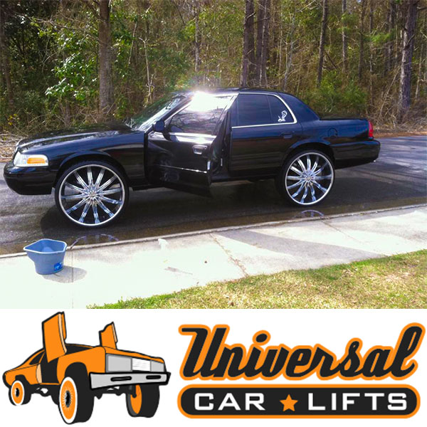 03 05 Ford Panther 3 To 10 Car Lift Kit For Crown Vic Marquis