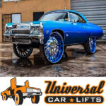 Review of Universal Car Lifts Caprice donk lift kit for 22s, 24s, 26s, 28s, 30s, 32s, and 34s.