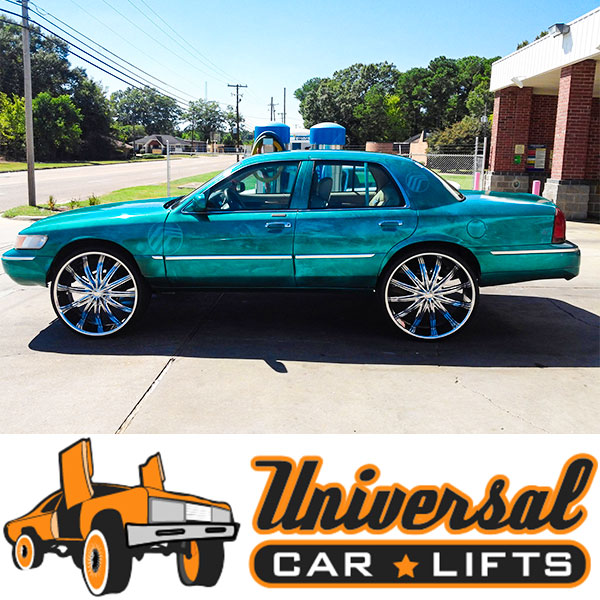 Find lift kits for Crown Victoria very easy to make fit big wheels up to 30s. Full package with front and rear control arms.