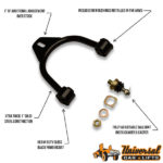 Front control arm features and reviews for dodge charger, magnum, 300c, and challenger car lx platform.