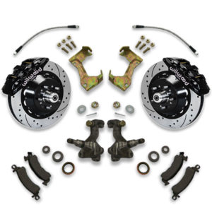 1985, 1986, 1987, 1988, 1990, 1991 and 1992 Chevy Caprice big brake conversion kit for swapping large diameter cross drilled rotors.