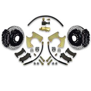 Replace rear drums with disc brake conversion for Impala, Caprice, Bonneville, Delta 88, LeSabre and Parisienne.
