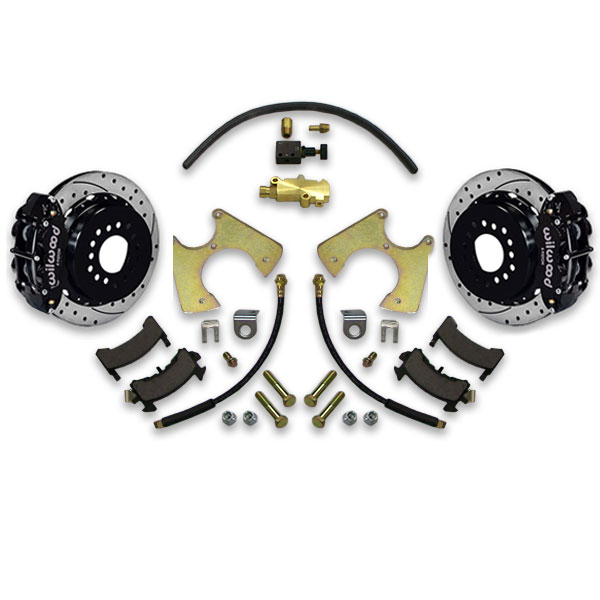 77 96 Gm B Body 13 Cross Drilled Rear Disc Brake Upgrade