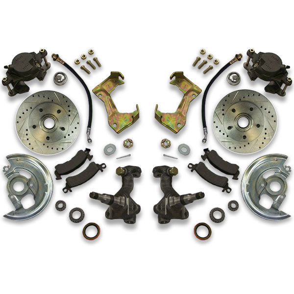Big brake upgrade for Chevelle, Cutlass, Monte Carlo, Malibu and El Camino. 1967, 1968, 1969, 1970 and 1971 years are a good fit for this package.