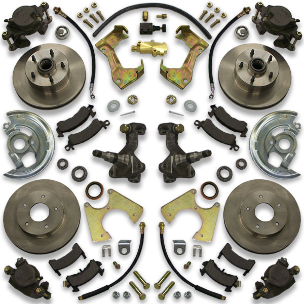 Monte Carlo big brake job for 1973, 1974, 1975, 1976 and 1977. Buick Century, Malibu, a body, Chevy, and Chevelle are included.