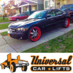 How to fit 26s or 28s on a Dodge Charger. Extended spindles, lift strut spacers, alignment and offset bushings.