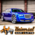 Bentley or rolls royce front conversion on 300c or charger with 26s or 28s and candy blue paint job.