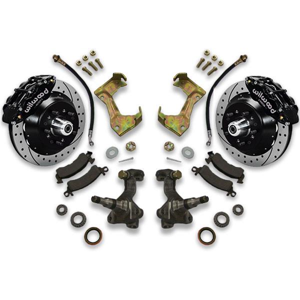 Regal, Cutlass, Monte Carlo, El Camino, Century, Grand Am and Prix big brake conversion kit. 1988, 1987, 1986, 1985 or 1984 fitment options.