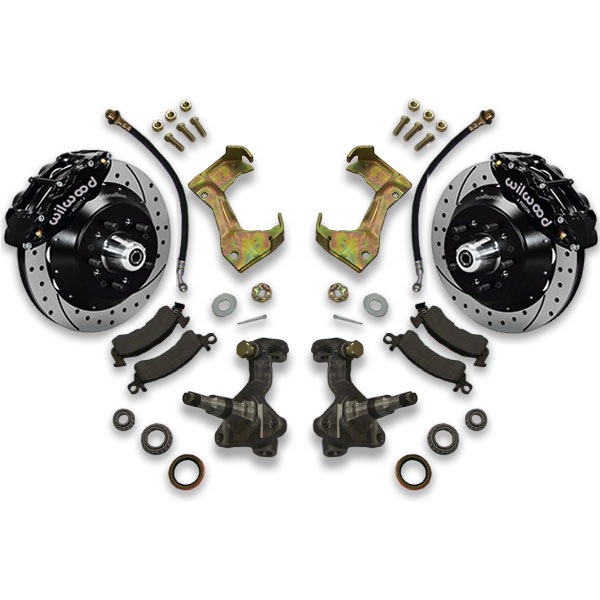 Disc power brakes is easy with decreased stopping distance for Monte Carlo. A body Wilwood conversion kit includes how to instructions for installation.