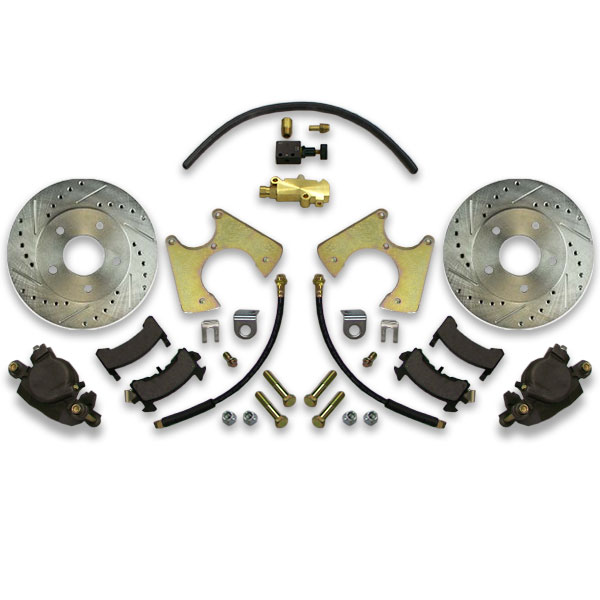 Front or rear donk big brake system for Caprice, Impala, box, bubble, Bonneville and Parisienne Chevy cars.
