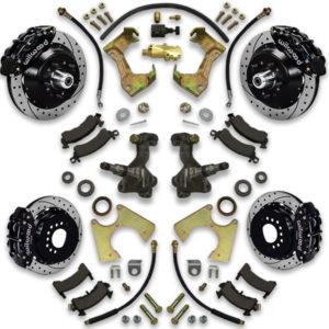 Regal, Cutlass, Monte Carlo, Skylark, Century, Grand Am and Prix big brake conversion kit. 1973, 1974, 1975, 1976 or 1977 fitment options.