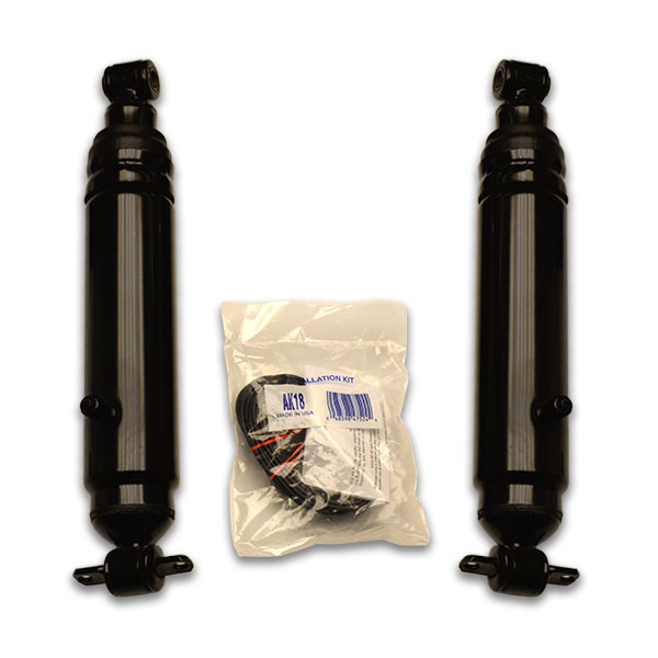 Monte Carlo Air shocks for Cutlass and other Chevy A body cars. Fits Chevy G body 1973, 1974, 1975, 1976, and 1977 years.