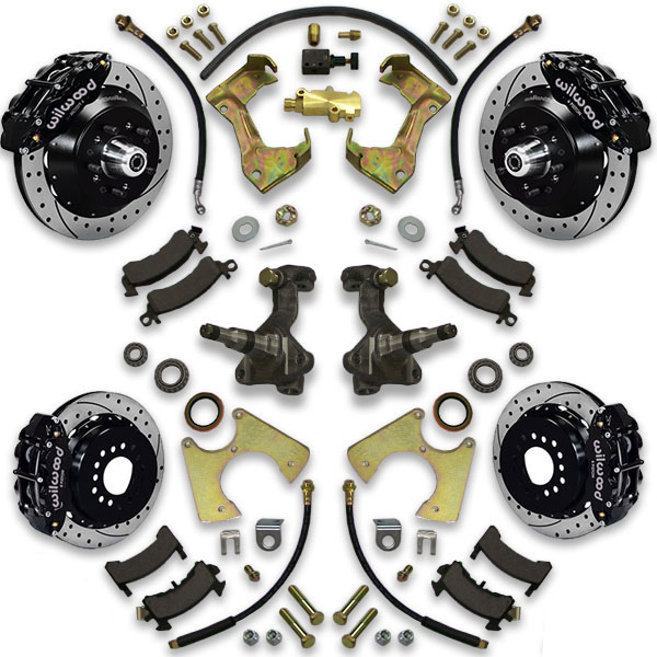 Power Brembo type brake kit for 1971, 1972, 1973, 1974, 1975 or 1976 Bonneville. Grandville, Catalina and Centurion are also included.