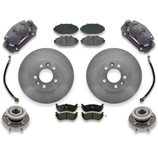 Front big brake upgrade kit for crown victoria, gramd marquis or town car. 1992, 1993 or 1994 are years the swap fits.