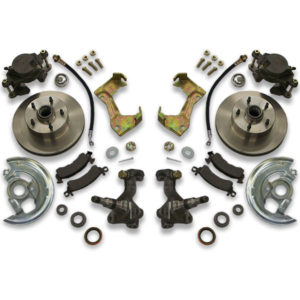 Brake upgrade kit for Cutlass, Monte Carlo, Regal, Lemans, Grand Am and Prix. Years 1983, 1984, 1985, 1986 and 1987 fitment.