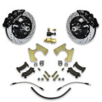 Front or rear donk big brake system for Monte Carlo, Cutlass, Regal, El Camino, Bonneville and Lemans Chevy cars.