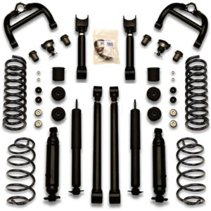 5 inch donk lift kit with universal gorilla package for Caprice, Impala, Delta 88, Boneville, Box, Bubble, Chevy and more.