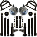How to fit 26, 28, 30 or 32 inch rims on a donk with this coil spring suspension lift kit from ucl.