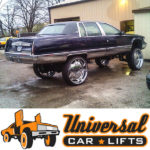 Get lifta installed with brand new frame x member lift kit for Caprice, Impala, Donk, Box and Bubble chevy.