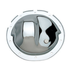Chrome differential cover for 1973, 1974, 1975, 1976 and 1977 Chevy A body platform cars.