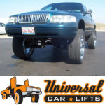 Vic on 30's with lift spindle type kit. Grand Marquis, Town Car and Crown Victoria fitment available.