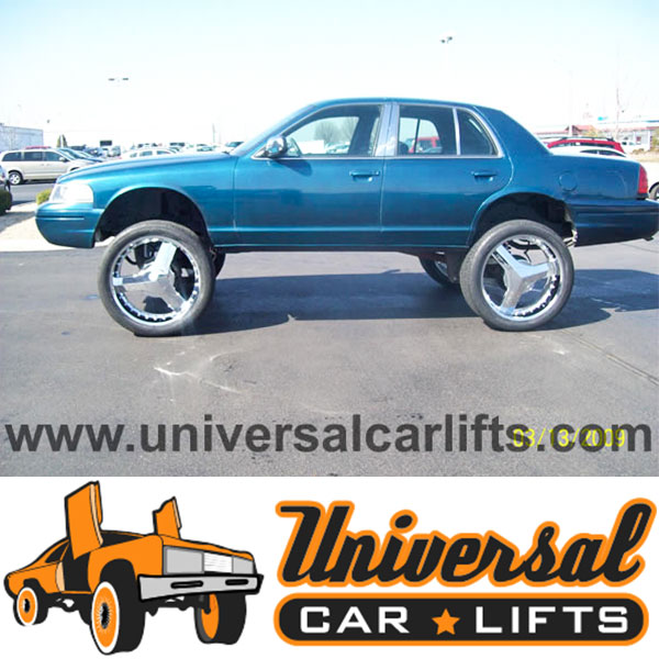 98 02 Crown Victoria High Riser 13 Lift Kit Marquis Town Car Rim