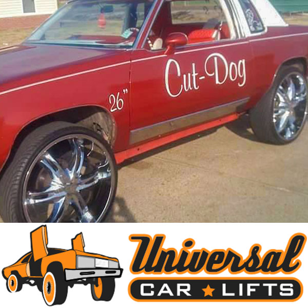Oldsmobile Cutlass body lift kit installation on 1984, 1985, 1986, 1987 or 1988 model year cars.