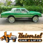 Body lift kit on a 1977 to 1990 chevy caprice box.