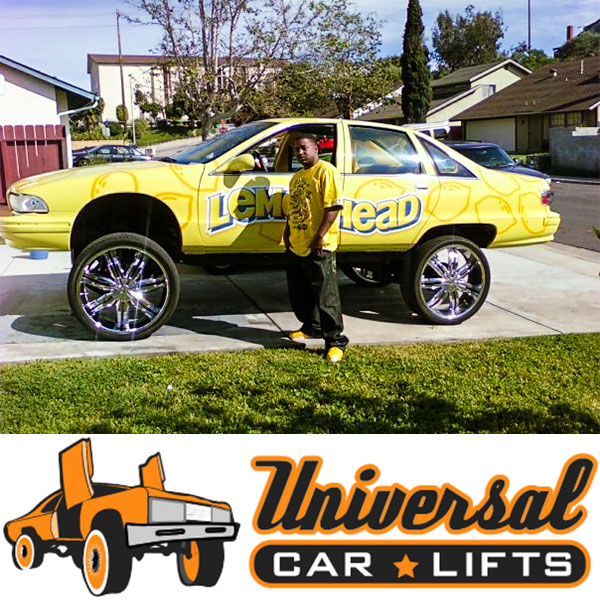 How to fit 28's on a caprice box with this cross member drop kit from universal lift kits.