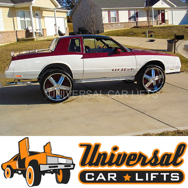 G Body lift kit for Monte Carlo, Regal, Cutlass, Grand Am, Grand Prix, El Camino and more.