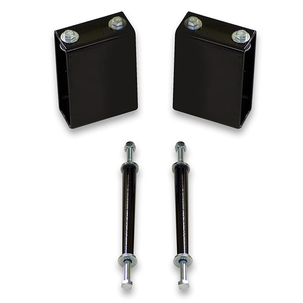Sway bar drop block kit for Caprice, Impala, Crown Victoria, Towncar, Monte Carlo, Cutlass, and more.