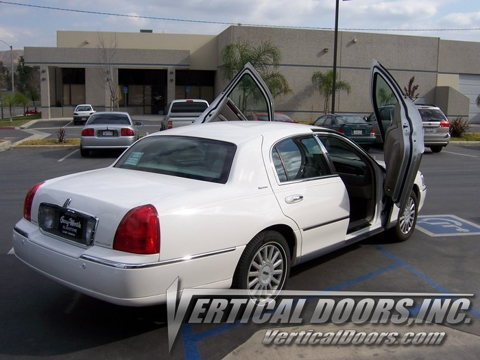 98 10 Lincoln Town Car Vertical Doors Lambo Kit Bolt On Vdi Rim