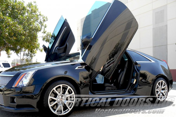 08 14 Cadillac Cts 2dr Vertical Doors Lambo Kit Bolt On