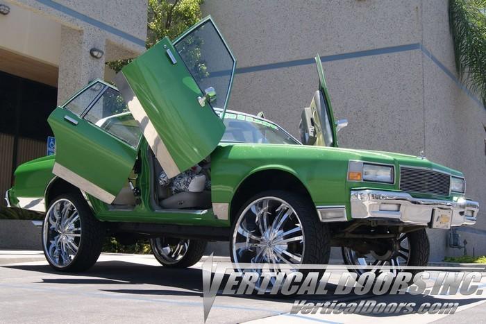 78-88 Oldsmobile Cutlass vertical lambo doors. Bolt on lambo vdi kit fits 1978 & 78-88 OLDSMOBILE CUTLASS VERTICAL DOORS LAMBO KIT BOLT ON VDI - Rim ...