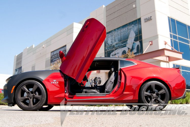 2016 chevrolet camaro vertical doors lambo kit bolt on vdi. Black Bedroom Furniture Sets. Home Design Ideas
