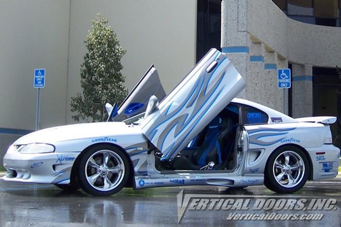 Ford Mustang lambo door vertical lift kit. Bolt on vdi vertical door installation kit fits & 94-98 FORD MUSTANG VERTICAL DOORS LAMBO KIT BOLT ON VDI - Rim ...
